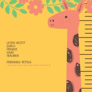 Lesen heißt durch fremde Hand träumen.Fernando Pessoa